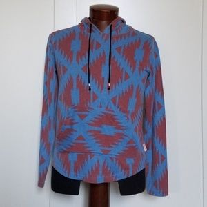 Men's Brooklyn Cloth Tribal Print Hoodie